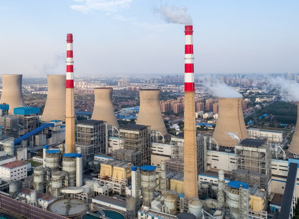 thermal power plant ,dezhou city ,shandong province,China